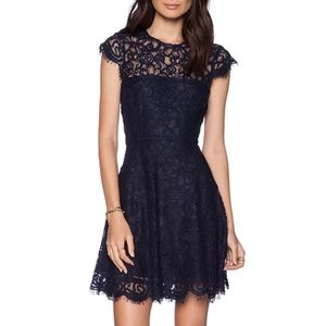 Rylin Lace Dress in Oilslick
